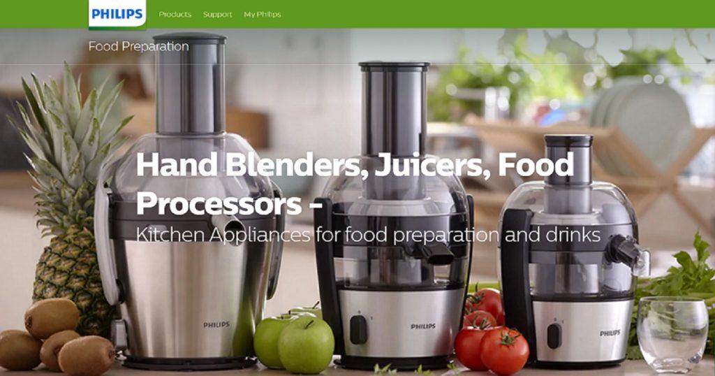 philips kitchen appliances