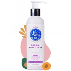 The Moms Co Natural Baby Lotion (400ml)