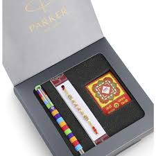 Parker Vector Special Edition Roller Ball Pen with Rakhi Combo