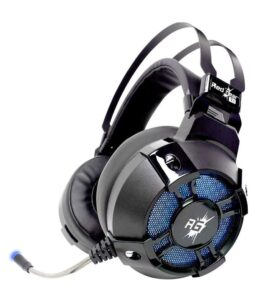 Redgear Cosmo 7.1 USB Gaming Headphones with Mic and in-line Controller, RGB LED Effect for PC