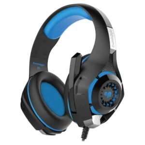 Cosmic Byte GS410 Headphones with Mic and for PS4, Xbox One, Laptop, PC, iPhone and Android Phones (BlackBlue)
