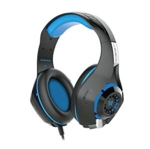 GS410 Kotion Each Headsets with Mic for Xbox One,PS4, Laptop, PC, iPhone and Android Phones (Blue)