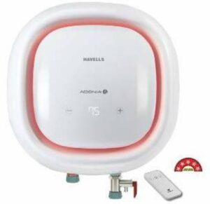 Havells Adonia Storage R 25 Litre Water Heater with Flexi Pipe, Safe Shock Plug