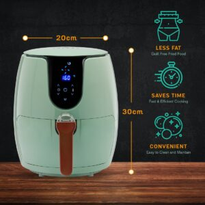 SOLARA Digital Air Fryer for Home Kitchen with 6 Pre set modes